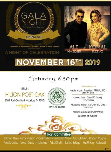 GALA  NIGHT, biggest event of the year 2019